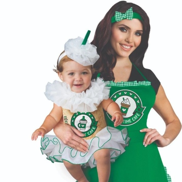 ac47232ea incharacter costumes Costumes | Mommy Me Coffee Barista Apron Baby ...